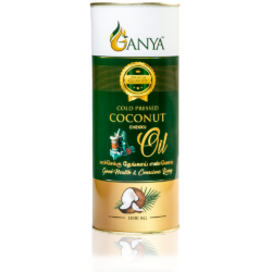 Ganya Cold Pressed Coconut Oil 1000ml